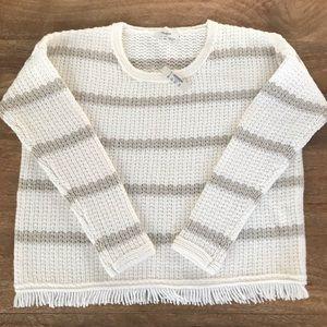 Madewell sweater.  XS